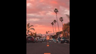 Viral video Los Angeles.. video drone