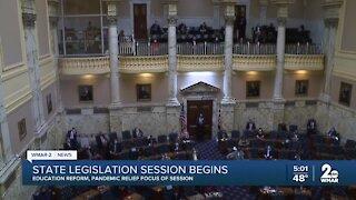 State legislation session begins in Annapolis
