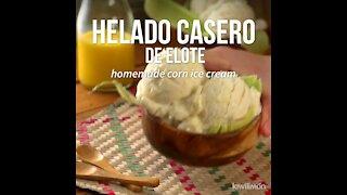 Homemade Corn Ice Cream