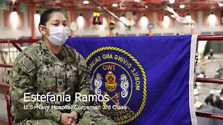 U.S. Navy Sailors discuss Women's History Month