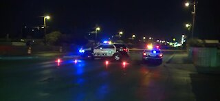 Deadly crash involving pedestrian closes Rancho near Vegas drives