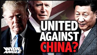 Biden Follows in Tough-on-China Stance; But Scraps Trump's U.S. Military Policy