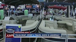 Tulsa Boat, Sport & Travel Show Is Underway