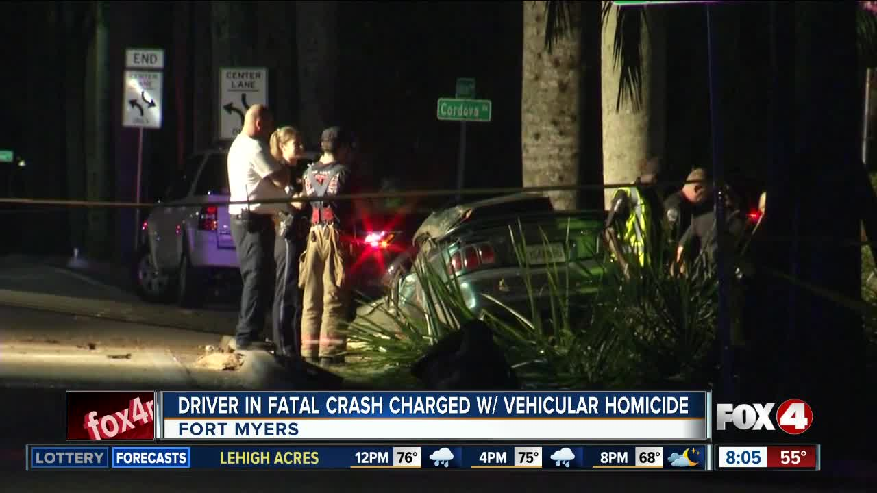 Driver in 2017 fatal crash charged with vehicular homicide