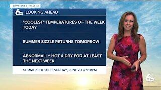 Rachel Garceau's Idaho News 6 forecast 6/16/21