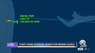 Coast Guard calls off search for missing couple