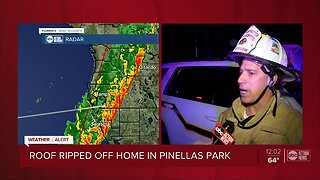 Homes with minor damage in Pinellas County