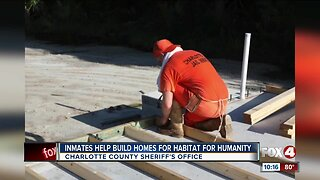 Charlotte County Jail inmates partner with Habitat for Humanity