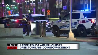 Violence in Downtown Detroit