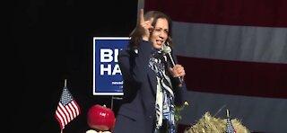 Kamala Harris campaigns in Nevada and Arizona