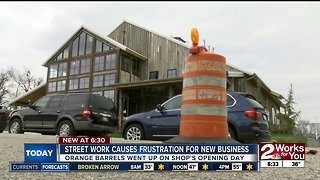 Downtown construction slowing down new business
