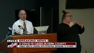 Kern County Health Department Coronavirus Briefing