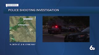 Missing persons report leads to police shooting