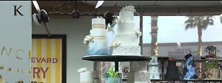 Virtual cake decorating class today