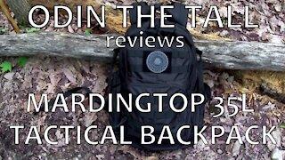Mardingtop 35L Tactical Backpack Review
