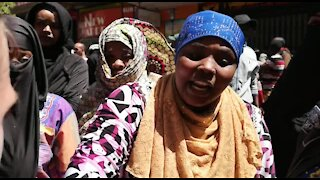 South Africa Cape Town - Refugees protest(Video) (yVR)