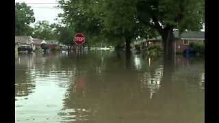Friday rain triggers more flooding in parts of metro Detroit