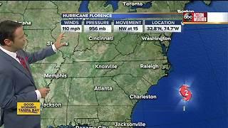 Tracking Hurricane Florence   5AM Update