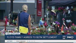 Settlement approved for Floyd family
