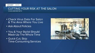 Consumer Report: How to make haircuts safer during the pandemic