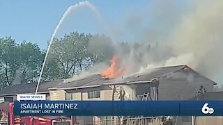 Several families displaced after Buhl apartment fire
