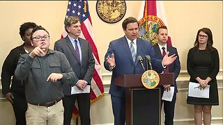 Florida Gov. DeSantis provides coronavirus update
