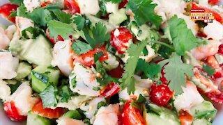 Shrimp Ceviche Recipe with Erika Schlick   Morning Blend