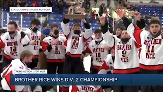 Brother Rice wins Division 2 hockey championship