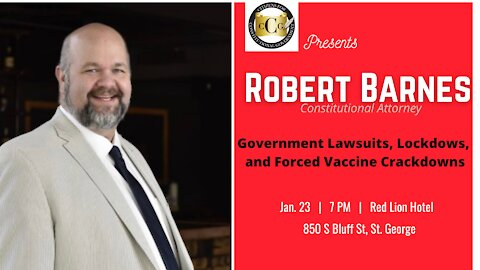 Robert Barnes - Government, Lawsuits, Lockdowns and Forced Vaccine Crackdowns
