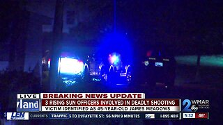 Officer-involved shooting reported in Cecil County, state police say