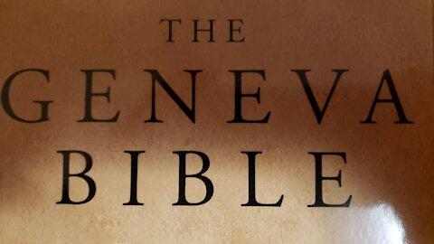 Psalm 23 in the Geneva Bible.