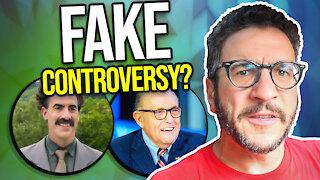 How Borat FABRICATED Controversy - Viva Frei Vlawg