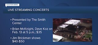 The Smith Center celebrating Valentine's Day with new virtual events
