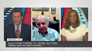 Constitutional law expert on Trump campaign's lawsuit