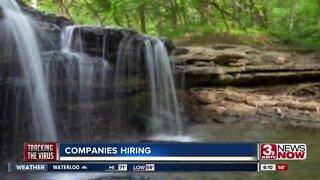 Companies still hiring during coronavirus