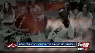 New legislative session could bring big changes in Florida
