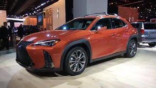 Lexus makes splash with new Lexus UX