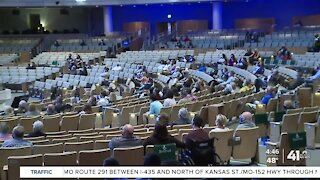 Church brings back in-person services