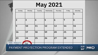Payment Protection Program extended