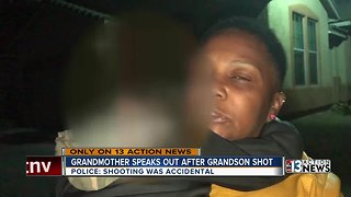 Grandmother speaks out after grandson is accidentally shot