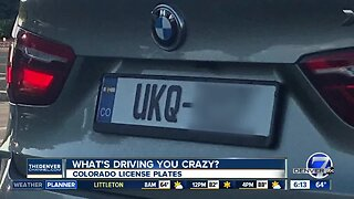 What's Driving You Crazy? Is this license plate legal?