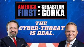 The cyber-threat is real. David Harvilicz with Sebastian Gorka on AMERICA First