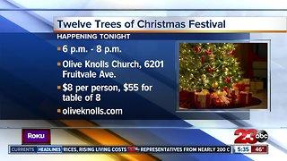 12 Trees of Christmas tonight