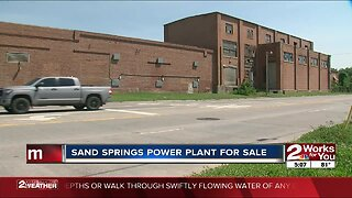 Sand Springs power plant for sale