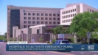 Hospitals to activate emergency plans