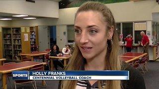 Centennial introduces new girls volleyball coach