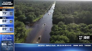 North Port homeowners see flooding after Elsa