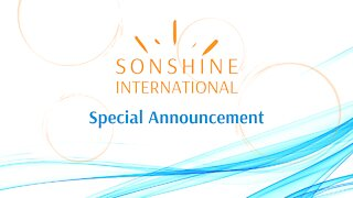 New Speaker Coming to the Sonshine Team!