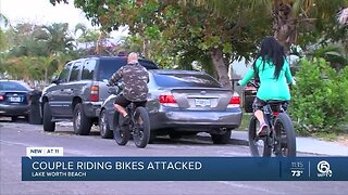 Couple attacked while riding their bikes in Lake Worth Beach