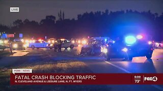 Fatal crash in North Fort Myers